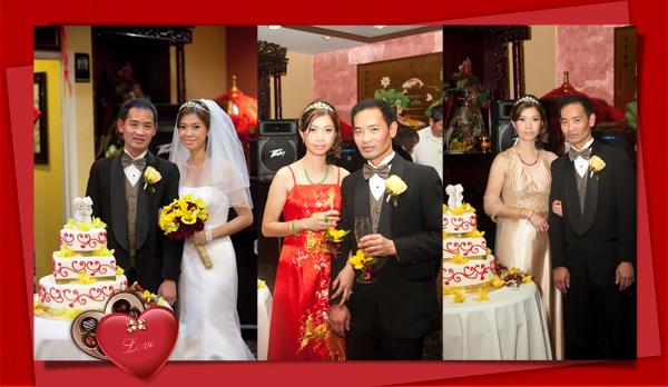 Emma and Calvin Wedding Reception