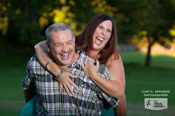 My favorite shot, real emotion, fun engagement session indeed.