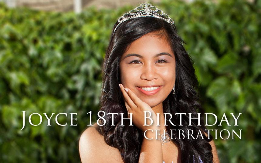 joyce-18TH Birthday Celebration