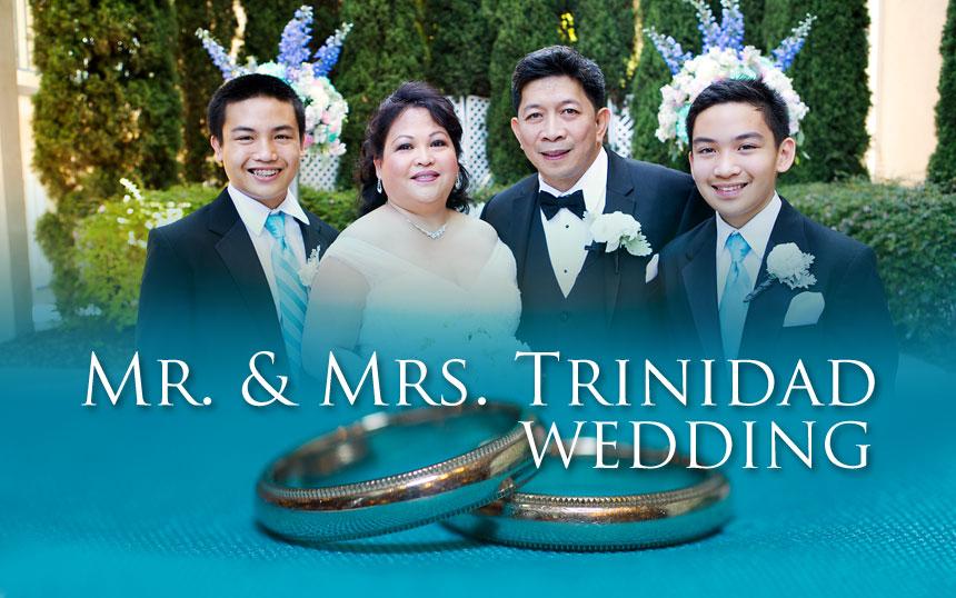 Mr. & Mrs. Trinidad Wedding