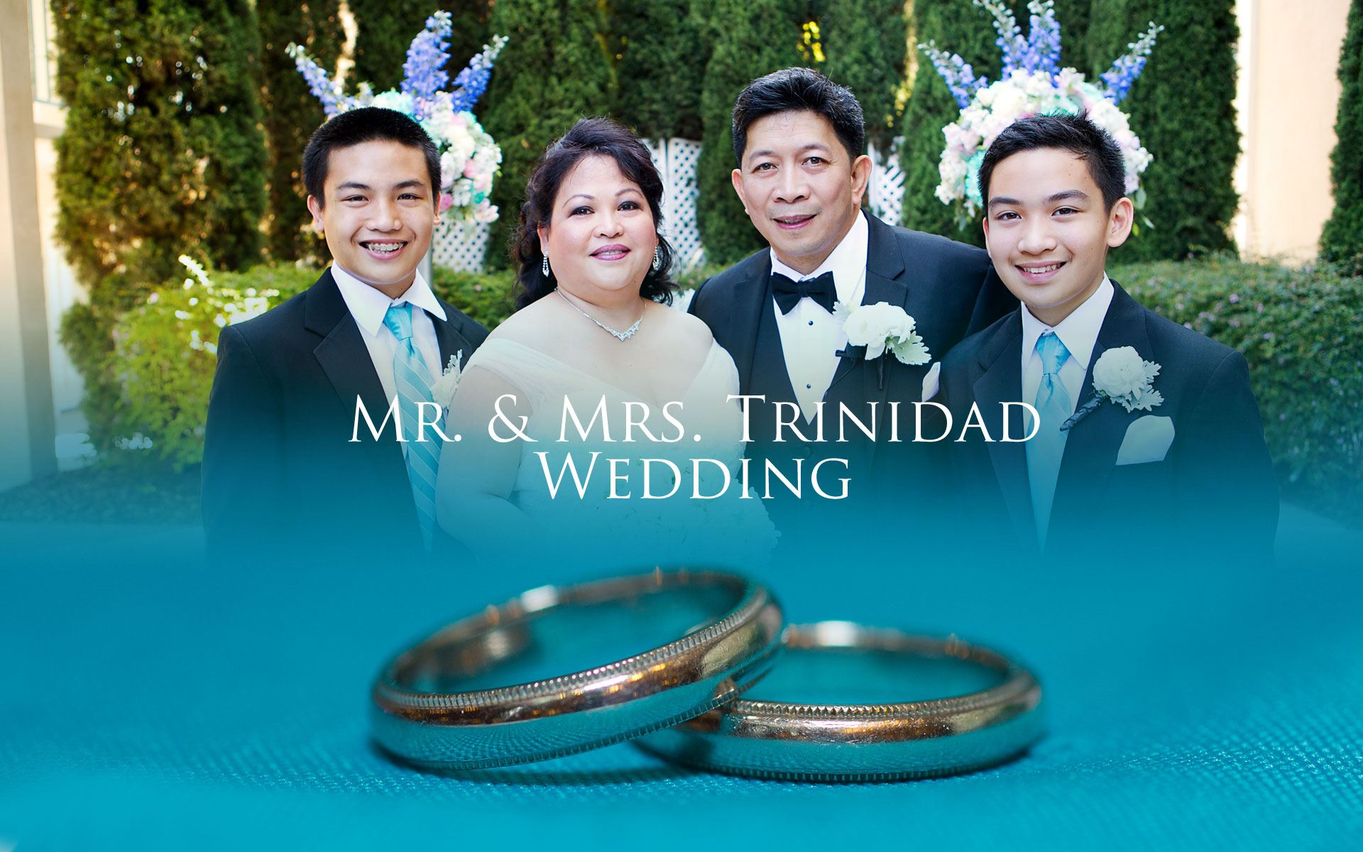 Mr. & Mrs Trinidad Wedding