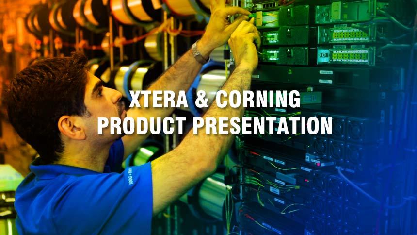Corning & Xtera Tradeshow Product Video