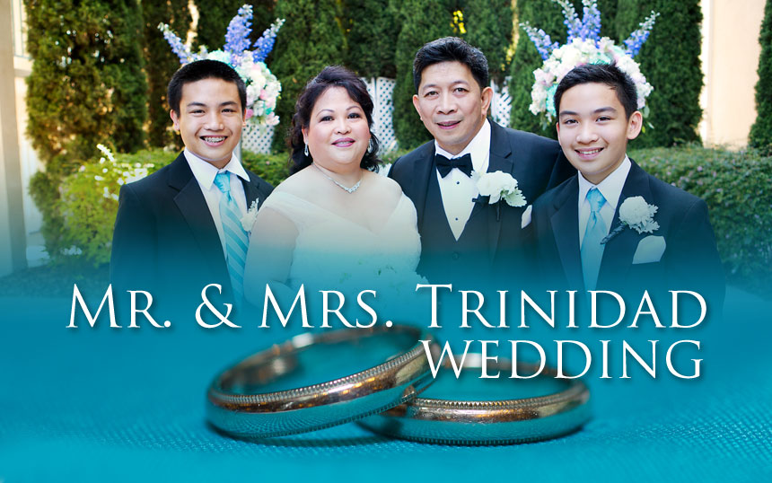 Mr. & Mrs. Trinidad Wedding